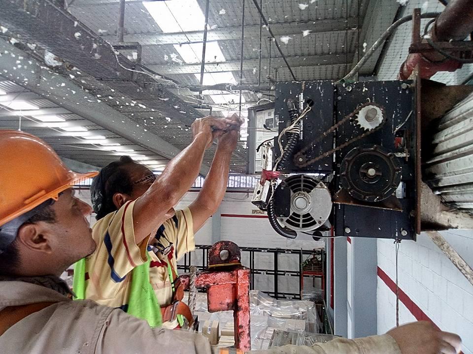 reparación de motores cortina metalica