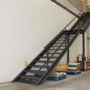 Escaleras de fierro
