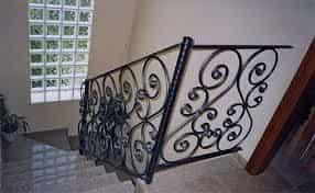 barandales de herrería para escaleras